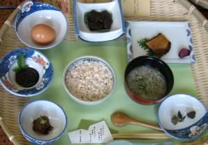 四季見の朝食