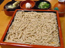 赤坂「田中屋」の蕎麦