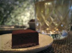 山崎 チョコとウイスキー
