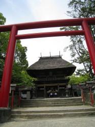 青井阿蘇神社桜門