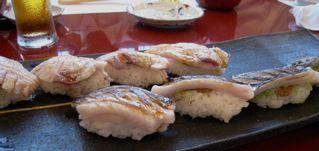 太刀魚、とカンパチ