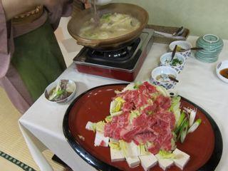博多たぬきの博多鍋