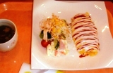 オムライス&サラダ