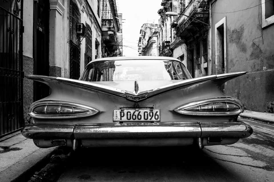 キューバ モノクロ