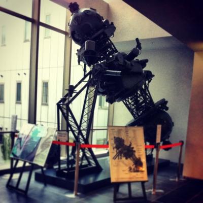 コスモプラネタリウム渋谷(五島プラネタリウムの映写機)