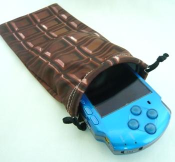 チョコレート マイクロファイバーポーチ