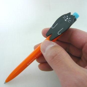 まったりボールペン 黒猫