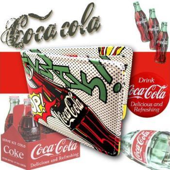 コカコーラ 2つ折財布