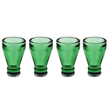 ボトルトップ ショットグラス4個セット