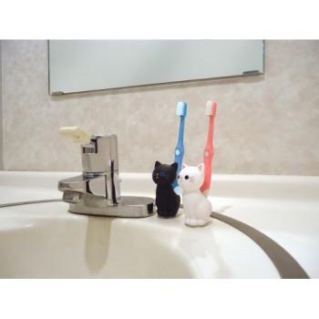 ねこの歯ブラシスタンド