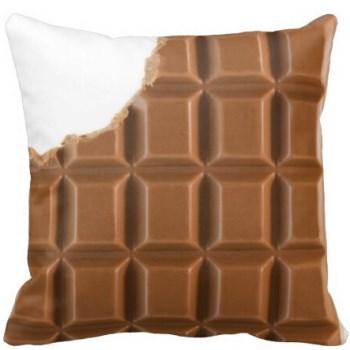 チョコレート クッションカバー