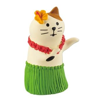 まったりマスコット 三毛猫フラダンス