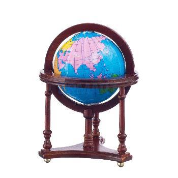 ミニチュアディスプレイ 地球儀