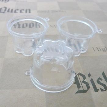 スイーツデコ用素材 ミニチュアプリンカップ プリンの容器