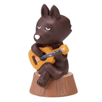 otogicco オオカミさんマスコット ギター