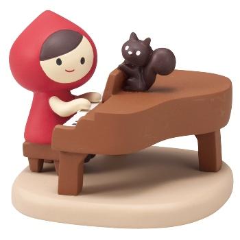 otogicco 赤ずきんちゃんマスコット ピアノ