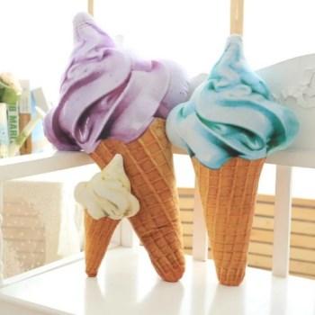 ソフトクリーム クッション