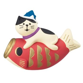 concombre コンコンブル 鯉のぼり猫