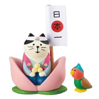 concombre コンコンブル 桃太郎猫どんぶらこセット