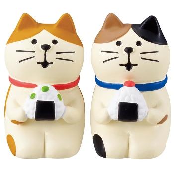 concombre コンコンブル おむすび子猫セット