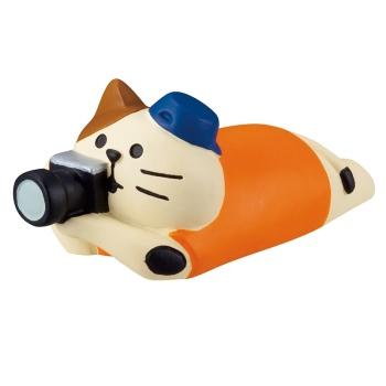 concombre コンコンブル 三毛猫シャッターチャンス