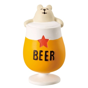 concombre コンコンブル しろくまビール風呂