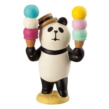 concombre コンコンブル アイス売りパンダ