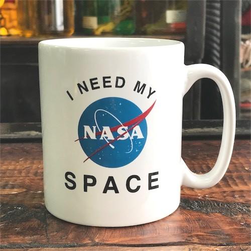 NASA公認(アメリカ航空宇宙局) 10ozマグカップ Insignia(ミートボール)