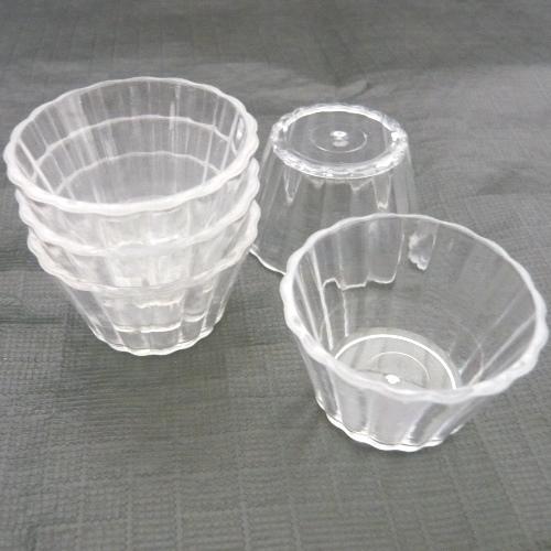 デコ用素材 ミニチュア デザートカップ・サラダカップ