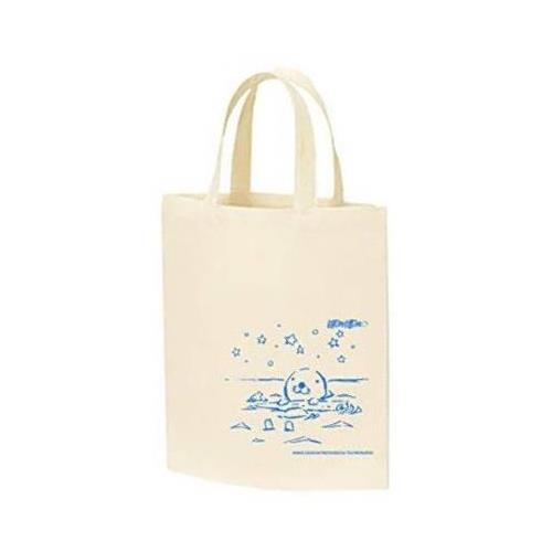 トートバッグ ぼのぼの 海デザイン グラフアートデザイン