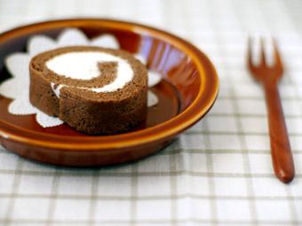 ココアロールケーキ*