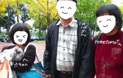 tomotomoさん&パパさんと♪