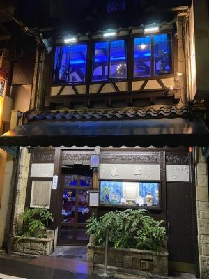 喫茶ソワレ,東郷青児,ゼリーポンチ,京都の老舗喫茶店,羊羹風のレトロな店内