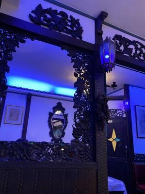 喫茶ソワレ,カフェソワレ,東郷青児,ゼリーポンチ,京都の老舗喫茶店,羊羹風のレトロな店内
