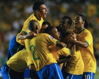 サッカーに首ったけブログ W杯南アフリカ大会南米予選 ブラジル