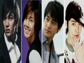 韓国版「花より男子」F4画像