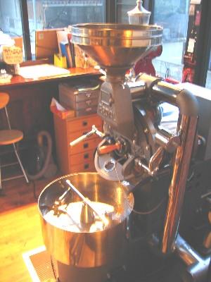 チョコラータ焙煎機