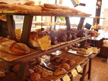 レ・プレジュールのパン