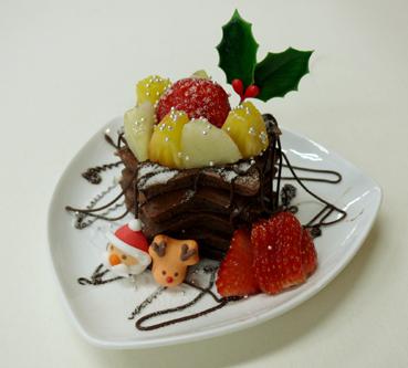 ホットココアケーキ