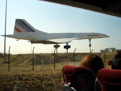 何かの飛行機