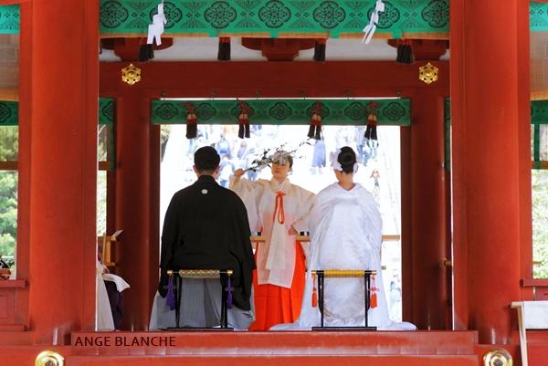鶴岡八幡宮神前式