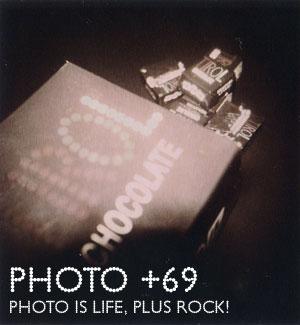 Holga Jack Edition (HOLGA 120CFN)+POLGASUN4 chocolate ポラロイド カメラフィルム