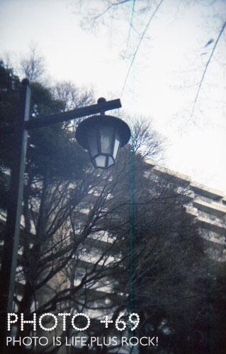 井の頭公園内電灯