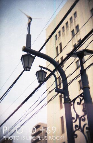東急裏街灯