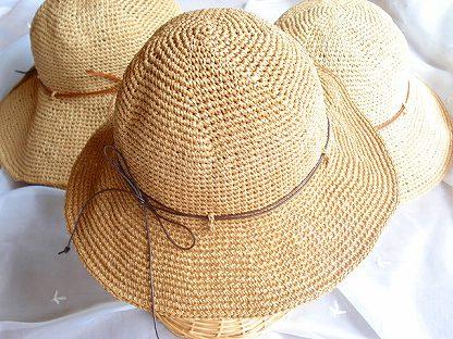 エコアンダリヤ帽子