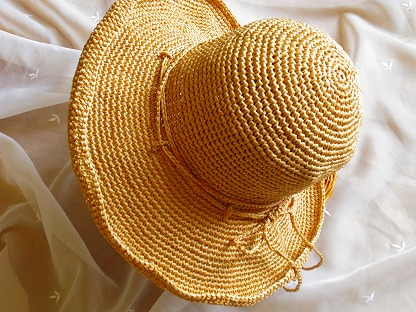 エコアンダリヤの帽子