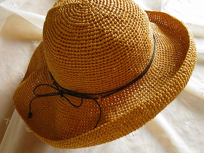 環境にも優しい『エコアンダリア帽子』の作り方&アイデア♪