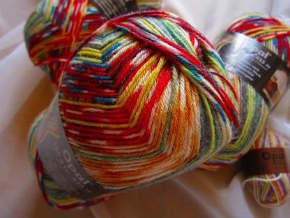 Opal 靴下用毛糸 Hundertwasser