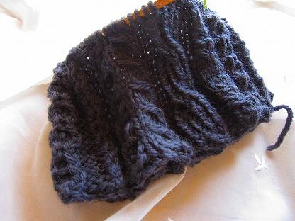 三國万里子 きょうの編み物