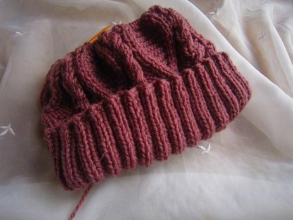 三國万里子「きょうの編みもの」ミトン